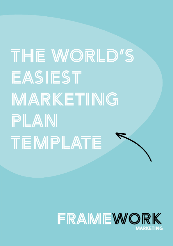 Framework Marketing Plan Template cover