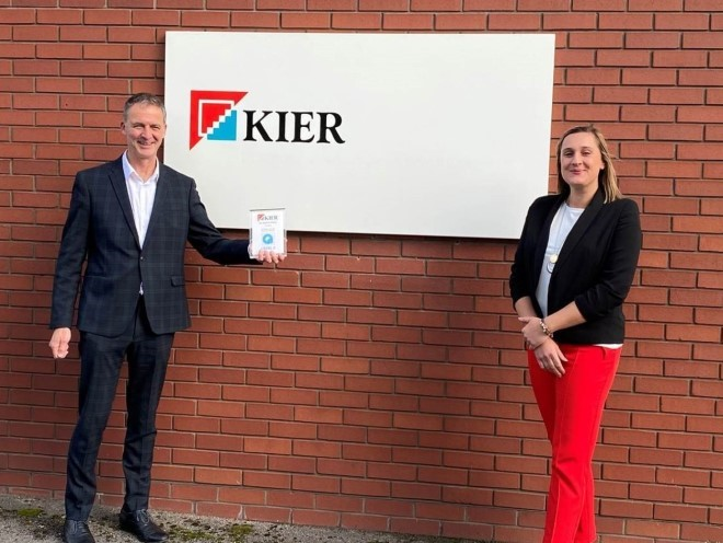 Kier first Construction company to be awarded Social Value Quality Mark Level 2