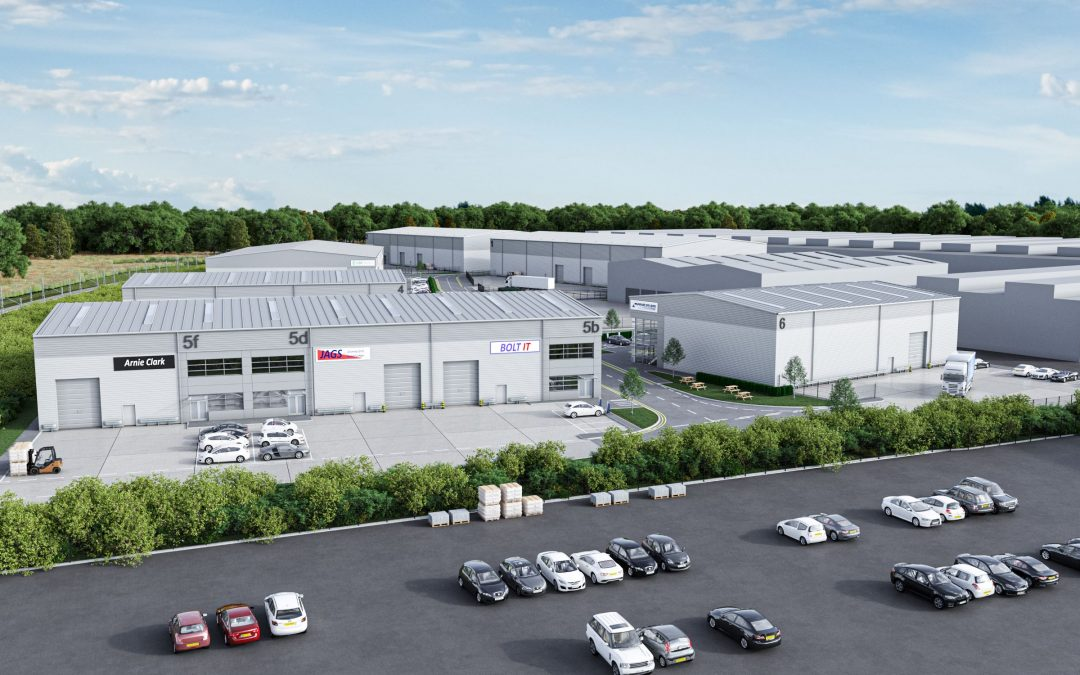 CADDICK NAMED AS CONSTRUCTION PARTNER ON TRIUMPH BUSINESS PARK INDUSTRIAL SCHEME