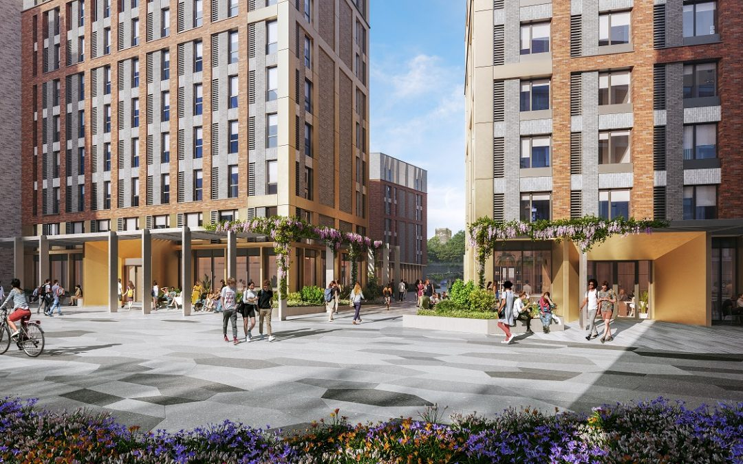 PLANS ANNOUNCED FOR 702-BED STUDENT ACCOMODATION AT THE ISLAND QUARTER
