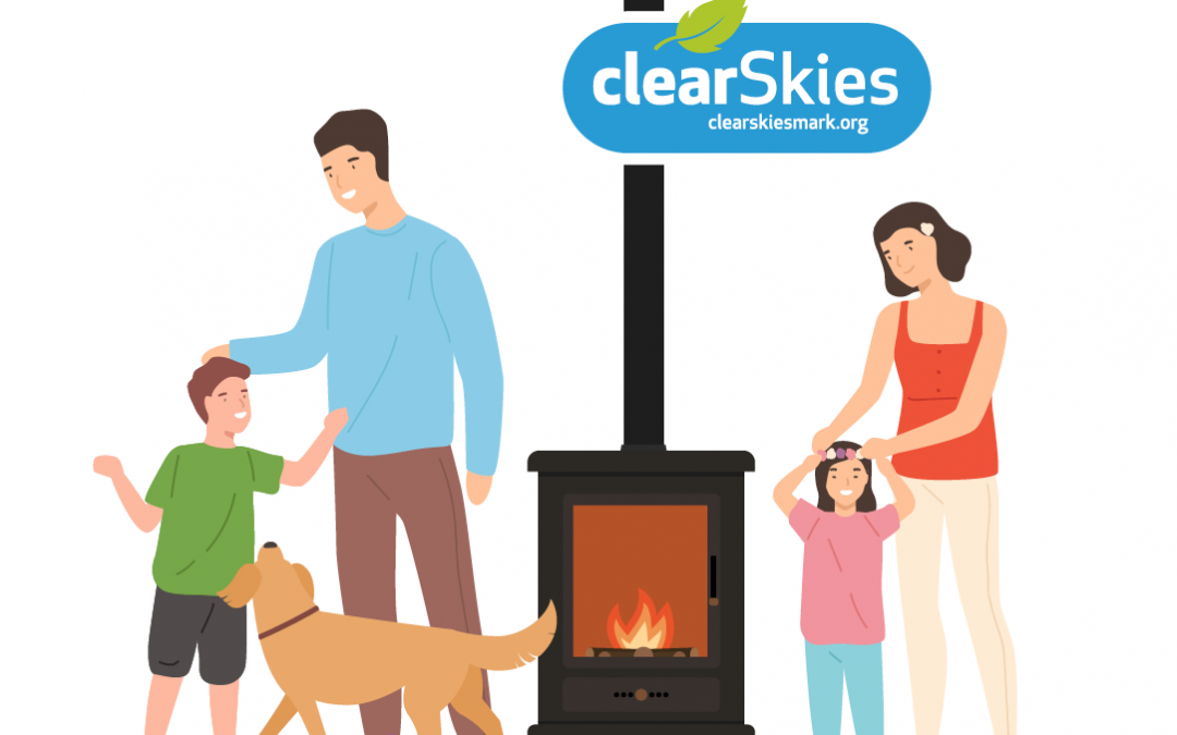 How can an architect or builder choose the most efficient and lowest emission wood burning stoves and how can they help their clients understand the benefits of this specification?