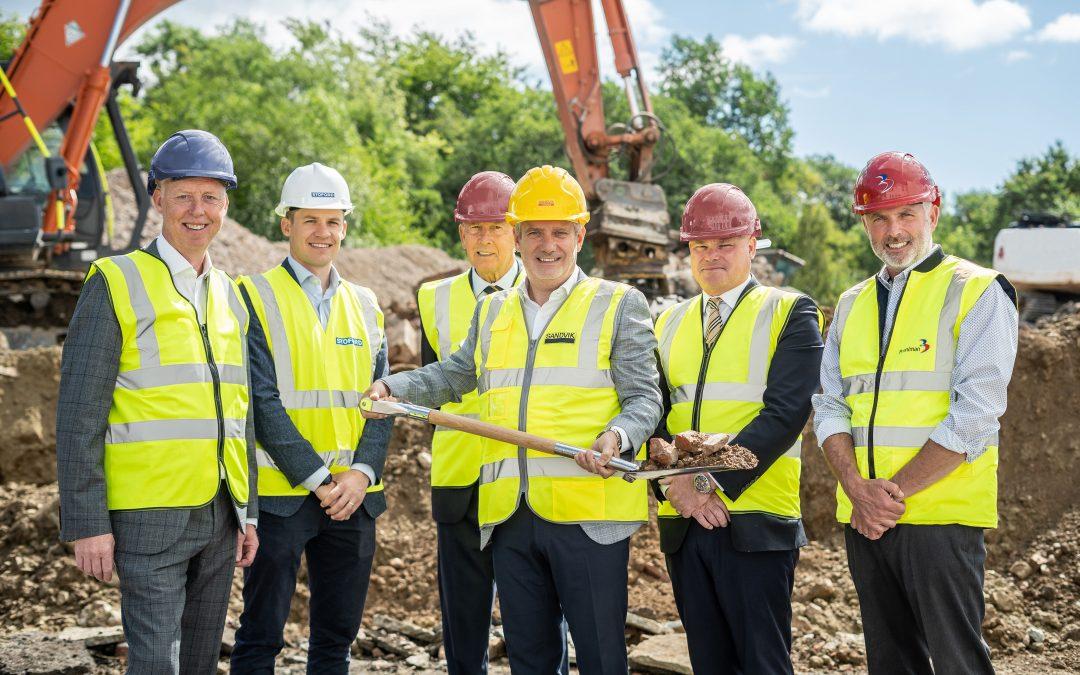Work underway on Sandvik Coromant's new UK headquarters in Halesowen