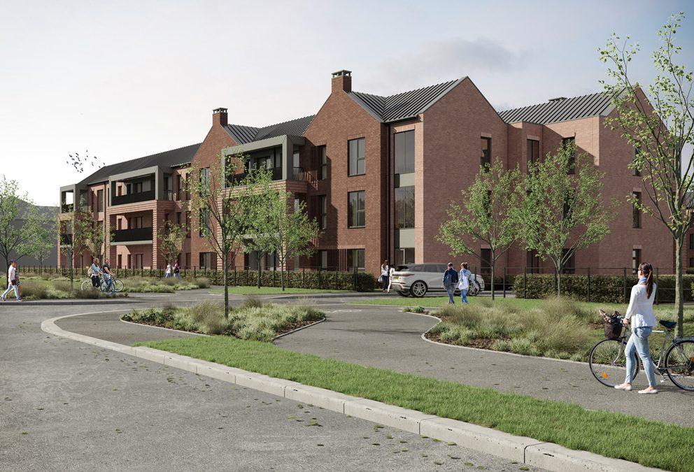 Brewster Bye designed scheme to form part of Woodford Garden Village
