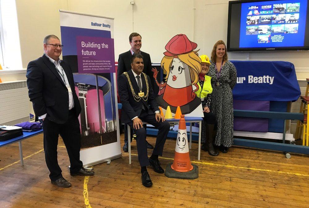Balfour Beatty launches children's book to inspire school children in Leeds