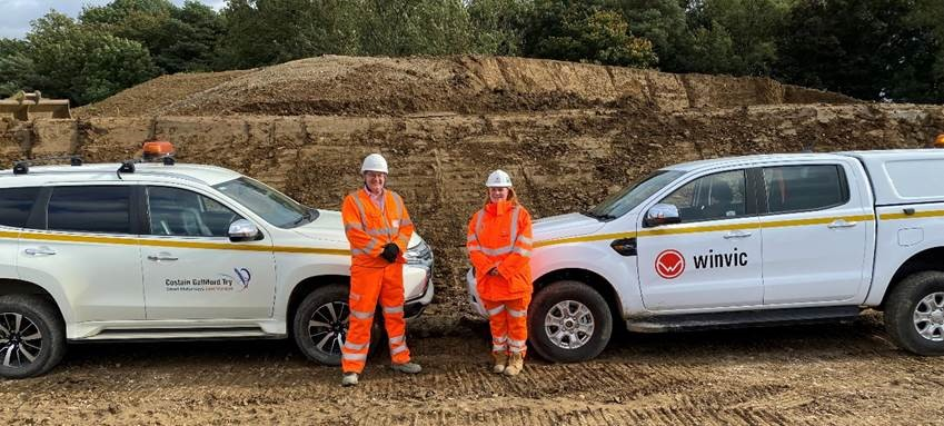 Winvic and Smart Motorways Project Demonstrate Best Practice Private and Public Sector Collaboration at SEGRO Logistics Park Northampton